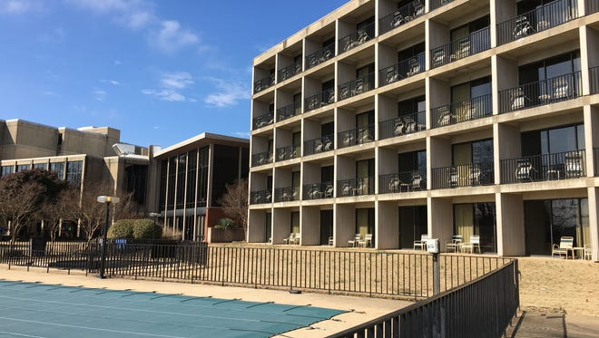Many rooms at the Paris Landing Inn have a wonderful view of Kentucky Lake, which is why a new, smaller resort-style hotel is planned to replace the outdated inn that will be razed.