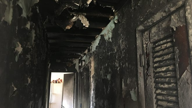 Melbourne home condemned after fire Thursday, Feb. 22.