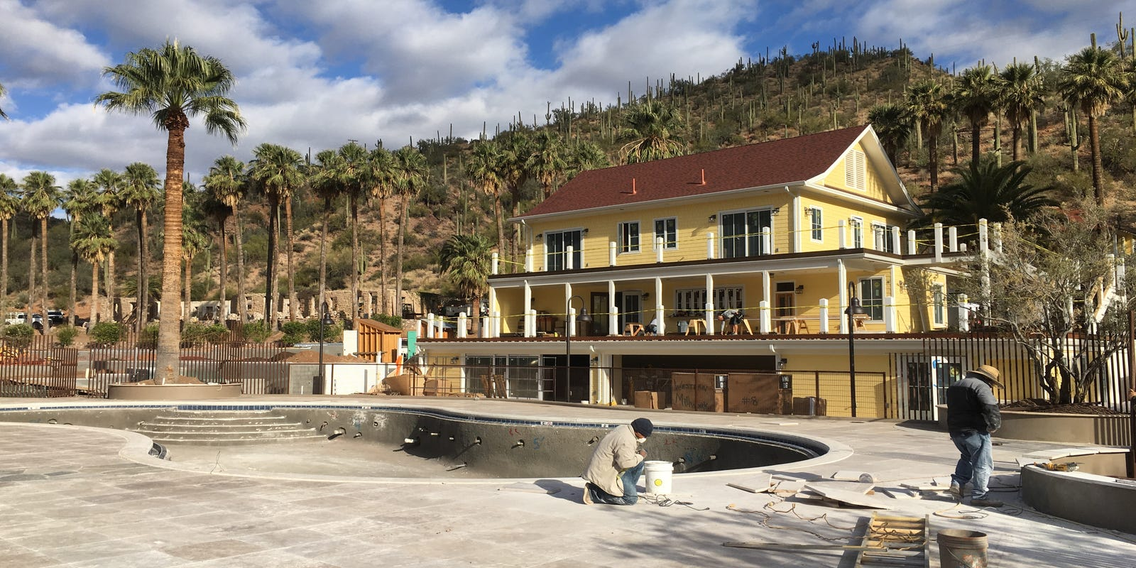 Historic Castle Hot Springs resort to reopen in October