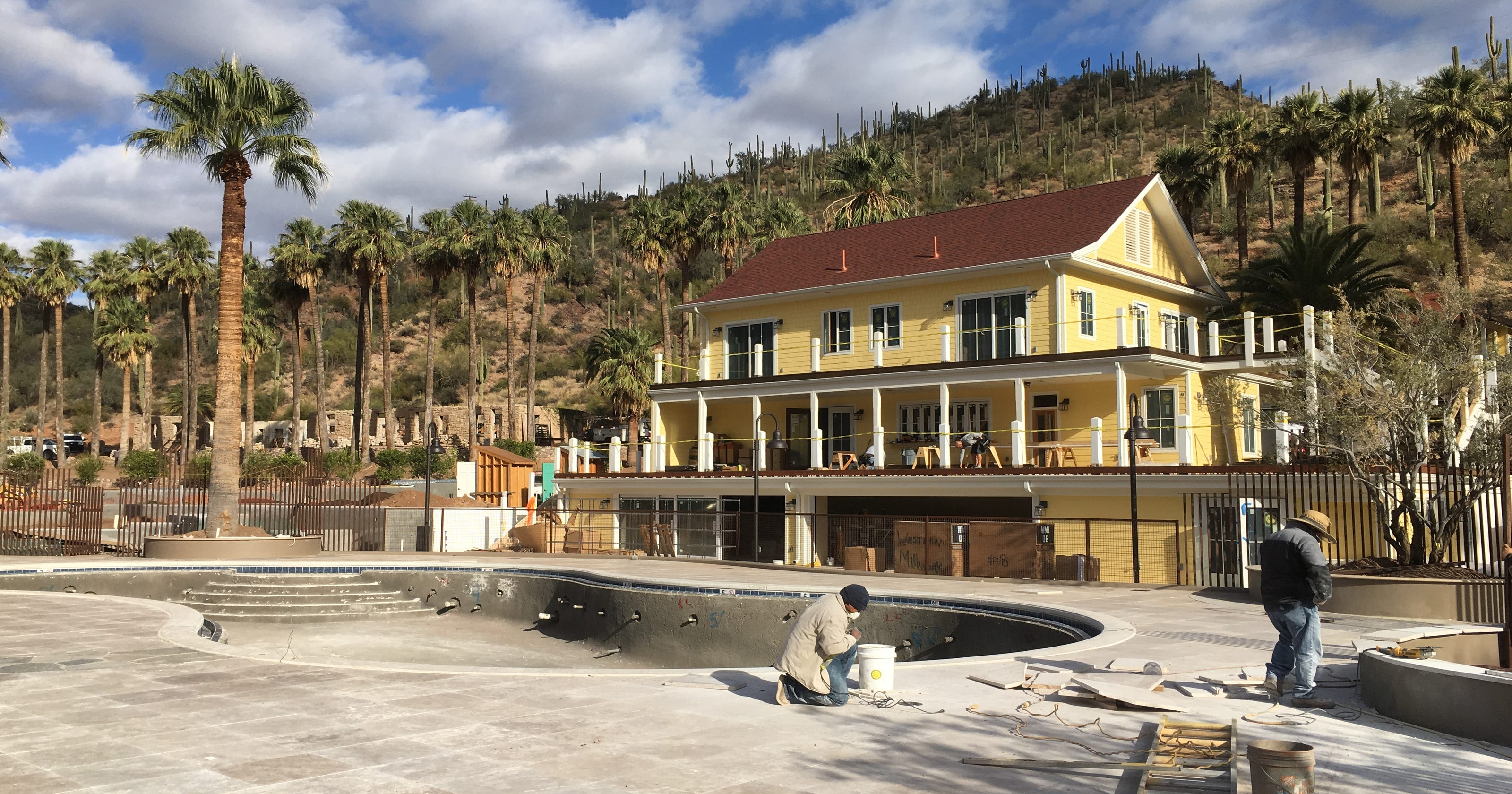 Castle Hot Springs historic Arizona hotel to open with new amenities
