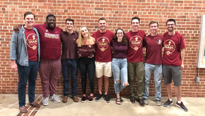 "The New Mental Health Council created their first campaign, ""Remove the Mask,"" in an effort to create a stigma free FSU."