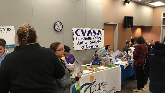 Local organizations gathered last week at Desert Sands Unified School District to help parents find the resources they need for their special education students.