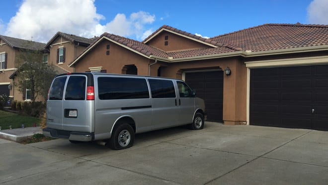 Tires have been slashed on a van parked outside the Turpin home in Perris. People have been visiting the scene to take pictures of the home where 13 malnourished children once lived and neighbors say they're concerned about thieves and trespassers.