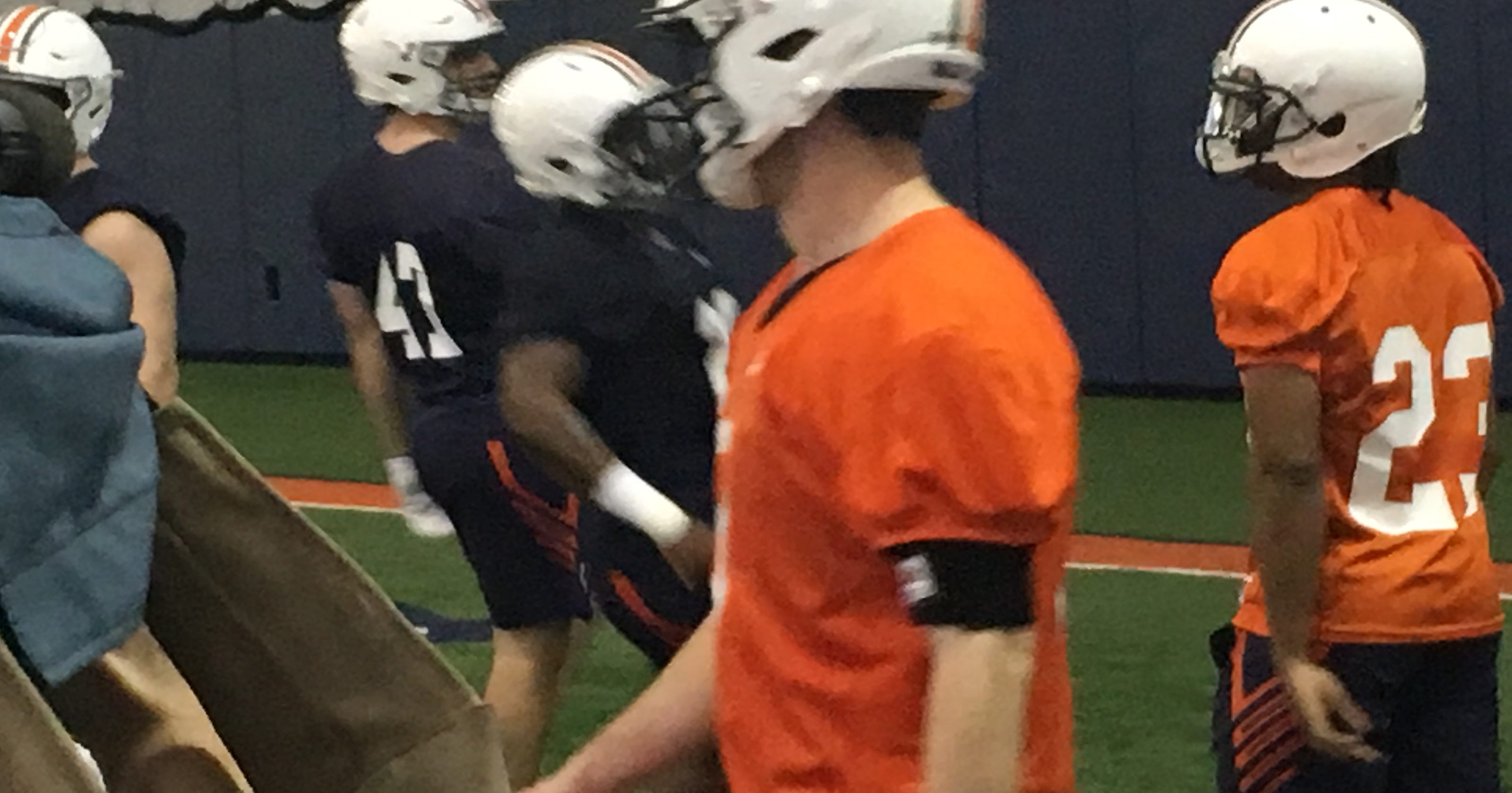 Auburn Spring Practice 1 Depth Chart An Early Look How The Tigers Lined Up