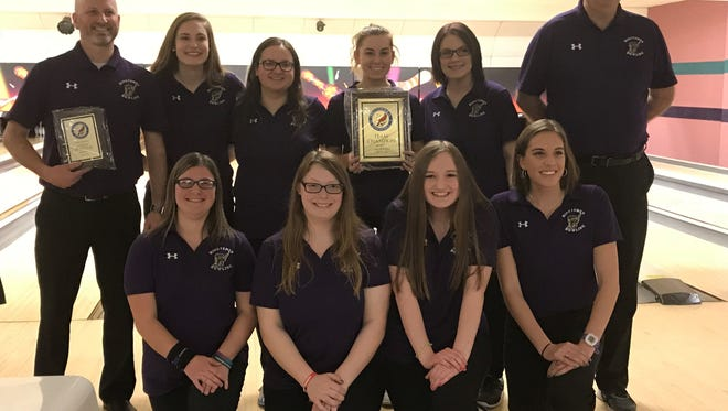 Inaugural Ohio Cardinal Conference bowling champion Lexington is bidding for the program's first district title.