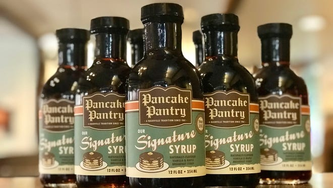 Pancake Pantry is now bottling its signature syrups for sale at the Hillsboro Village restaurant.