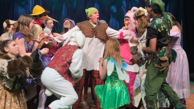 "Blind Brook High School presents ""Shrek at 7 p.m., March 8, 7:30 p.m., March 9; 2 and 7:30 p.m., March 10"