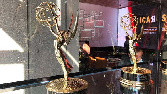 "Visitors to Netflix's offices in Hollywood are greeted by a row of Emmys, and an announcement that ""Icarus,"" a documentary that aired on Netflix, won the Oscar in 2018. It's Netflix's first Oscar."