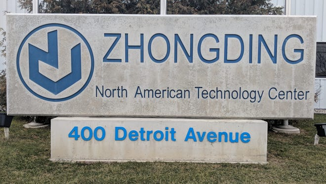 A global company, Zhongding, is shifting its North American Technology Center to Northville Township from Monroe.
