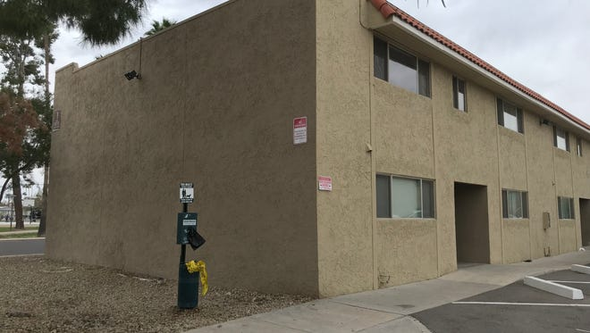 A man was shot by Mesa police officers on March 10, 2018 after a foot chase through an apartment building near Pioneer Park.