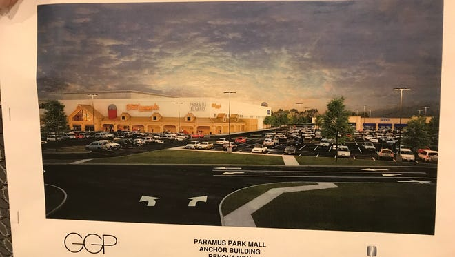 The proposal for the Stew Leonard's supermarket at Paramus Park mall
