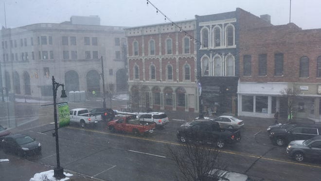 A winter weather advisory has been issued for Sanilac and St. Clair counties until 8 p.m.