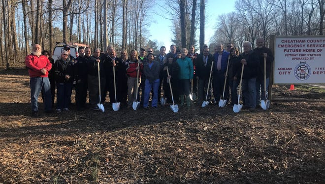 On Wednesday, the official groundbreaking of a new fire station on Petway Road took place after years in the works.