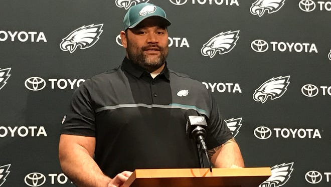 The Eagles signed former Baltimore Ravens and Detroit Lions defensive tackle Haloti Ngata to a one-year contract on Thursday.