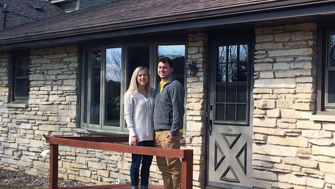 After losing out in bidding for two other homes in Waukesha County, Ashley Siewert and Seth Buske found a house to buy in Sussex.