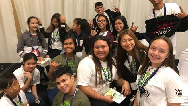 Hundreds of Guam's teens gathered at the 2018 Youth for Youth Conference, tackling issues that affect local youth.