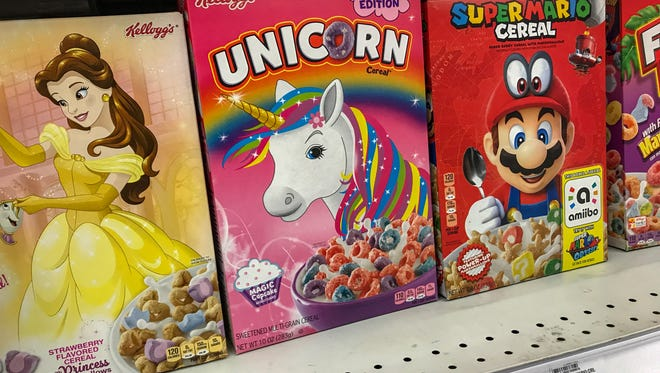 Kellogg Co. introduced Unicorn Cereal to the American market at the beginning of March 2018.
