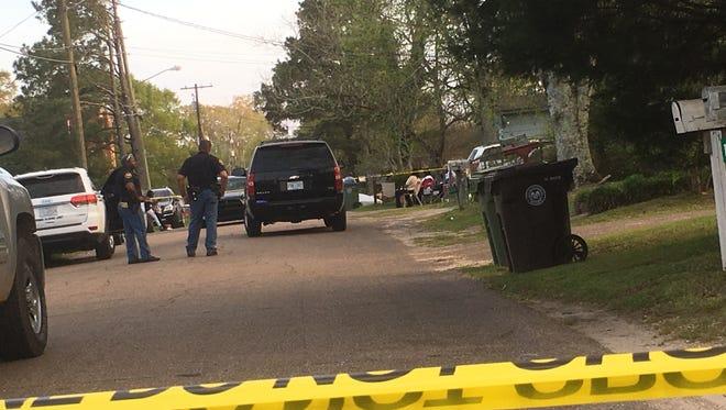 Hattiesburg police conduct a death investigation Sunday on the 1200 block of Dewey Street.