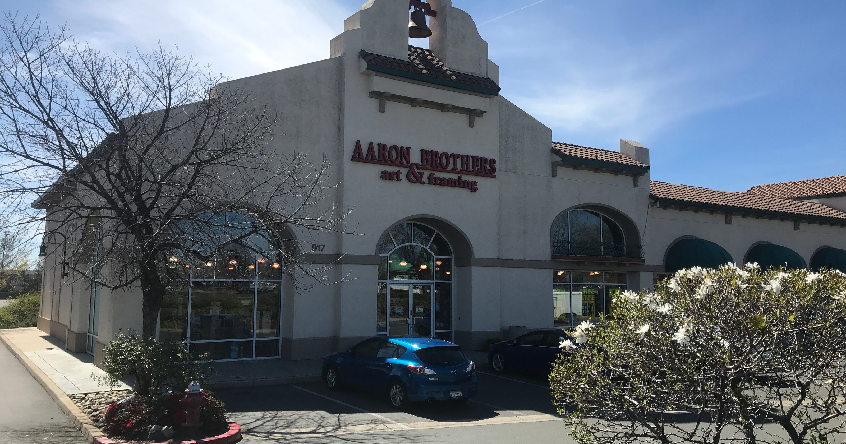 Aaron Brothers to close 94 stores, including Redding