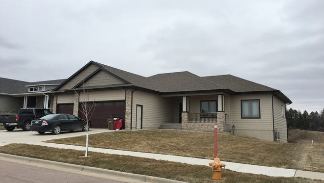 This five-bedroom, three-bath home at 8700 E. Palametto St. in east Sioux Falls topped the sales list for the week ending March 16.