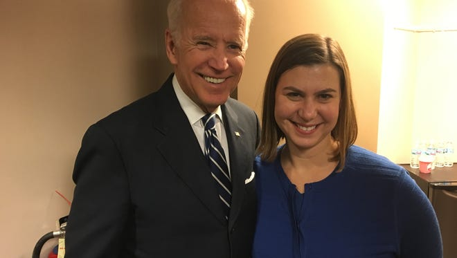 Former Vice President Joe Biden is endorsing Elissa Slotkin in the race for Michigan's 8th congressional district.
