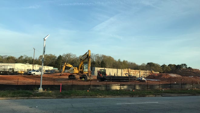 A new Greenville Health System medical office building is being built at 905 Verdae Blvd in Greenville. April 6, 2018