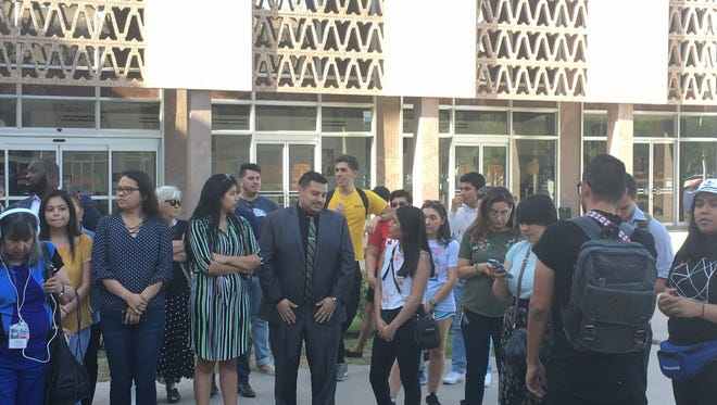 Several of the approximately 2,000 DACA students affected by the tuition change spoke out against the decision.