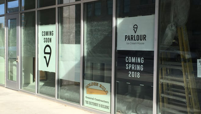 Parlour Ice Cream House is under construction, but now it has an opening date: May 3