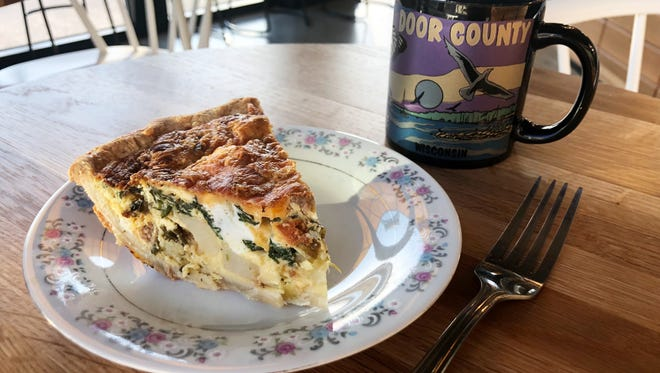 Batches bakery, 401 E. Erie St., has added Sunday hours. Quiche is served on Sundays only; potato-leek and potato, leek and sausage are sold for $4 a slice.