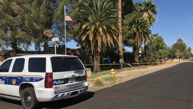 Police are investigating a shooting Saturday in north Phoenix near Third Street and St. Charles Avenue. Police said an officer shot an individual.