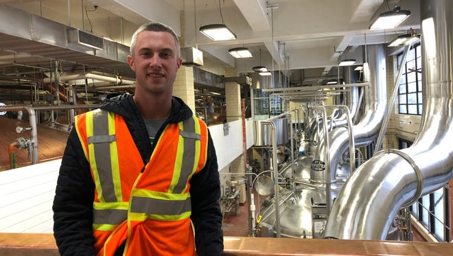 Miami Marlins pitcher Trevor Richards took a tour of the MillerCoors Brewery on Wednesday, a mere 14 months removed from working in the MillerCoors gift shop just down the road from Miller Park, where he is scheduled to pitch against the Brewers on Friday.