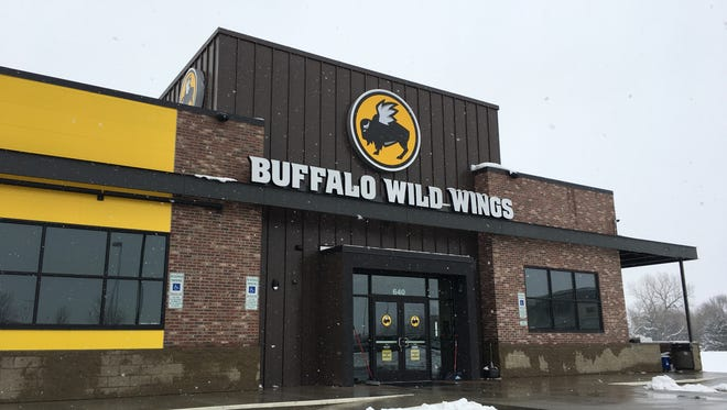 The new eastside Buffalo Wild Wings at Dawley Farm Village.