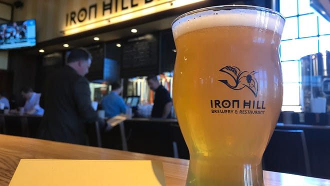 Hipster, a New England-style IPA, is on tap at Iron Hill Brewery and Restaurant opening May 1 on Haywood Road.