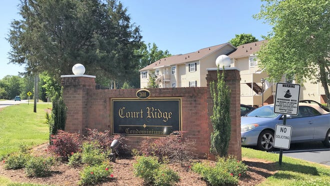 Caleb Bartram, 25, was a resident of Court Ridge Condominiums off of Duncan Chapel Road near Furman University. He was stabbed to death inside his third-floor condo Sunday. Authorities have since charged his wife, Christina June Bartram, 38, with the killing.