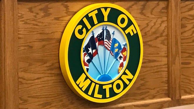 City of Milton file. City seal.