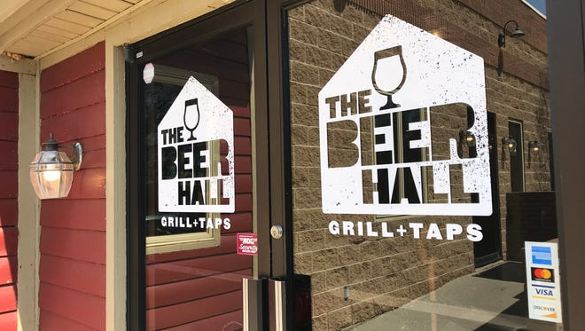 The Beer Hall Grill + Taps is the new name of the former Stoneyard Beer Hall in Penfield.