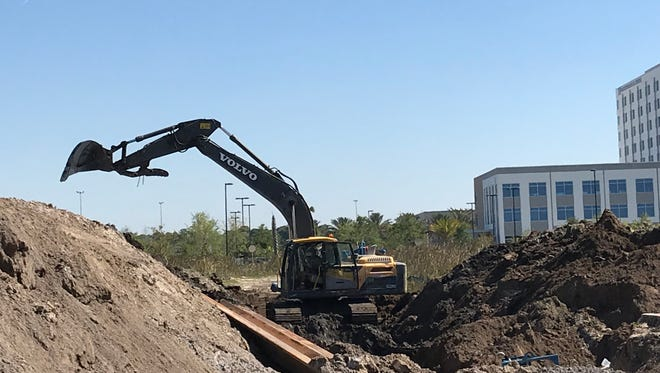 Construction activity is booming in Tradition.