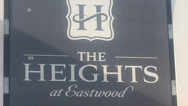 The Heights at Eastwood is a shopping center at Showtime Drive in Lansing Township.