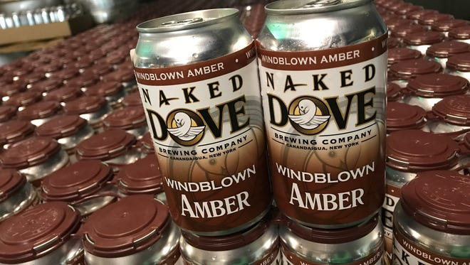 Naked Dove Windblown Amber, available for the first time in cans.