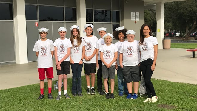 The Cabrillo Middle School Rusty Sailor robotics team is moving forward in the FIRST LEGO competition.