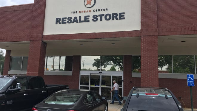 Work in progress at the Dream Center of Pickens County's new Resale Store in Easley.