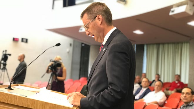Knox County Mayor Tim Burchett gave his 2018-19 budget address Monday, May 7. It is his last budget presentation as mayor. He is term-limited this fall.