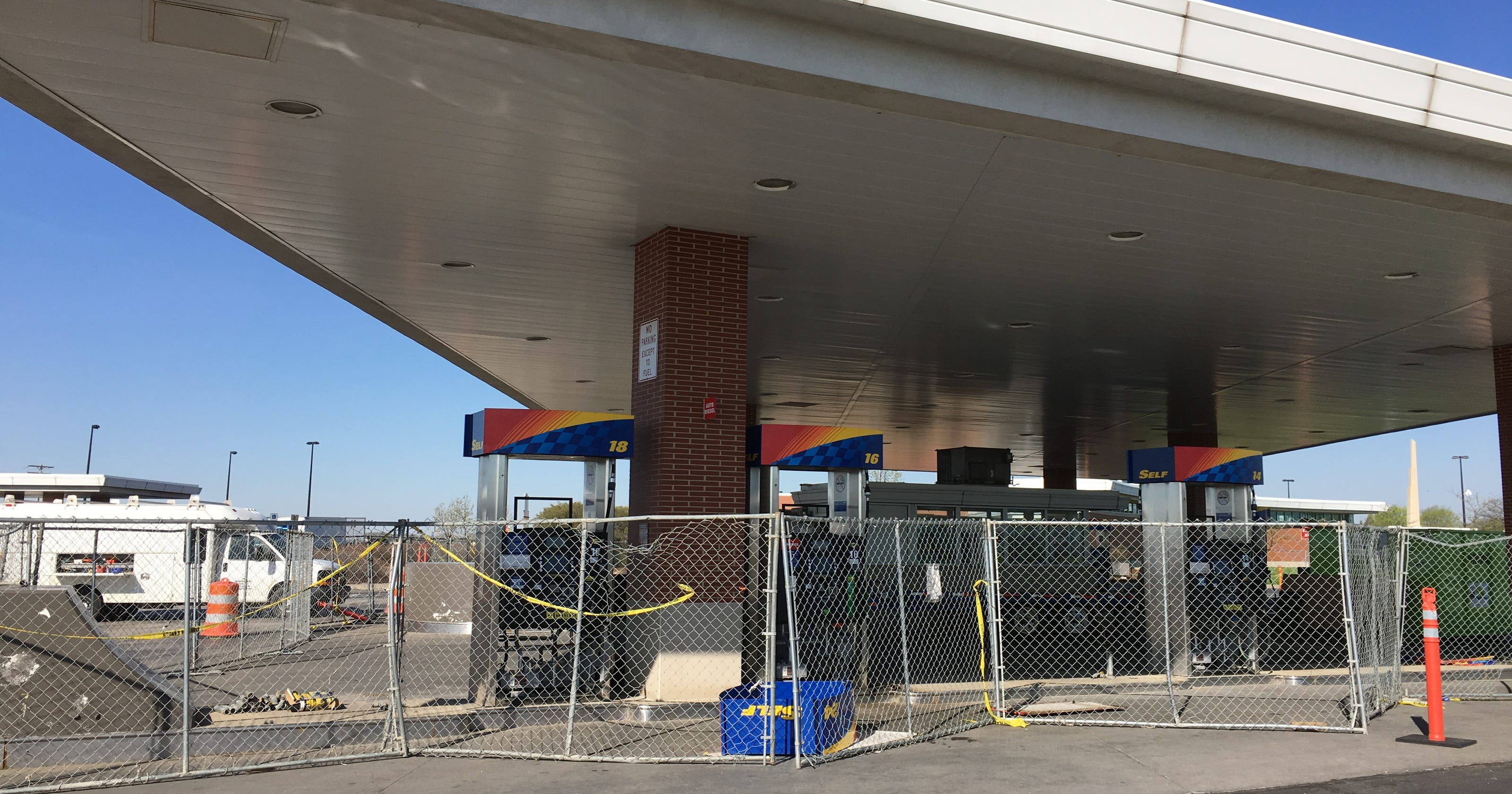 Fuel pumps reopen at Wyandot Service Plaza on Ohio Turnpike