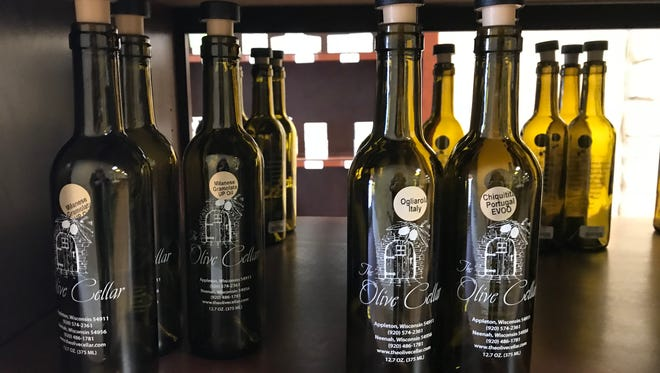 Bottles at Olive Cellar