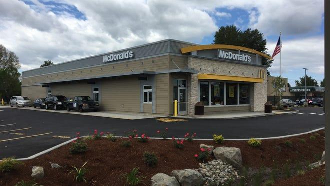 The new McDonald's restaurant at 1011 Lancaster Drive NE in Salem, Oregon, on May 11, 2018.