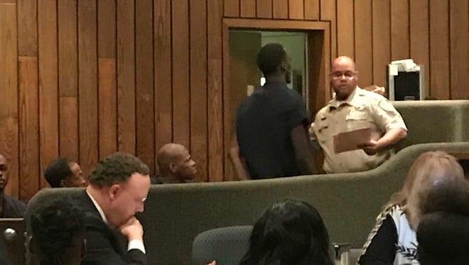 George Henderson appears Friday in Shelby County General Sessions Court.