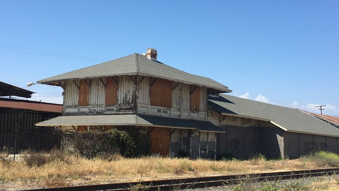The old Saticoy Depot now sits vacant on land owned by Ventura County Transportation Commission.