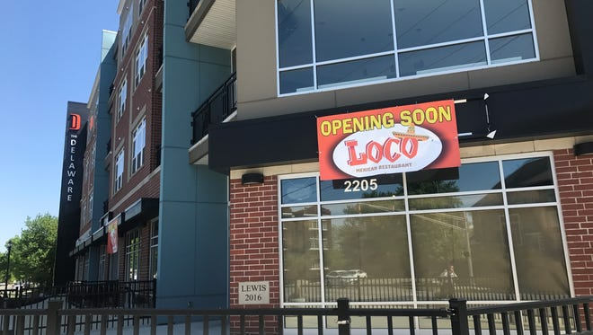 A Tex-Mex menu, 50 tequilas and a monthly rooftop taco party are in the works at Loco Mexican Restaurant, opening in June 2018 at 2205 N. Delaware St., where both LongBranch and 22nd Street Diner gave it shot in Indianapolis' Fall Creek Place area.