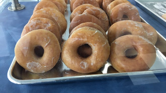 Dave and Loretta Bailey recently opened up Madsen Donuts in Staunton across from the Howard Johnson on Central Avenue in Staunton.