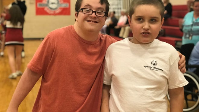 Students attended the reception at Cheatham Middle School to celebrate students who participated in this year's Special Olympics with dancing, games, refreshments and more.